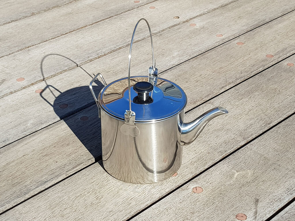 1.8 litre Stainless Steel Billy / Kettle