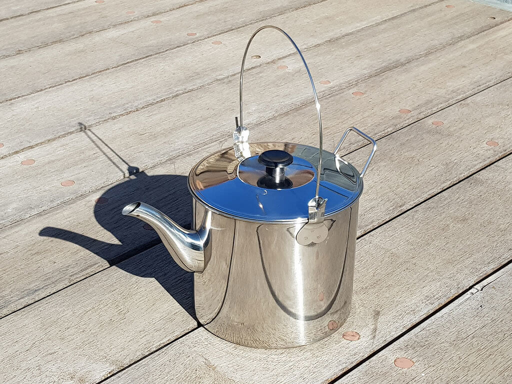 2.8 litre Stainless Steel Billy / Kettle