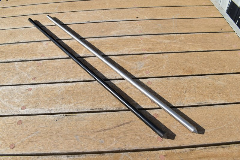 Solidteknics Auspit Solid Mild Steel & Solid Stainless Steel Support Posts