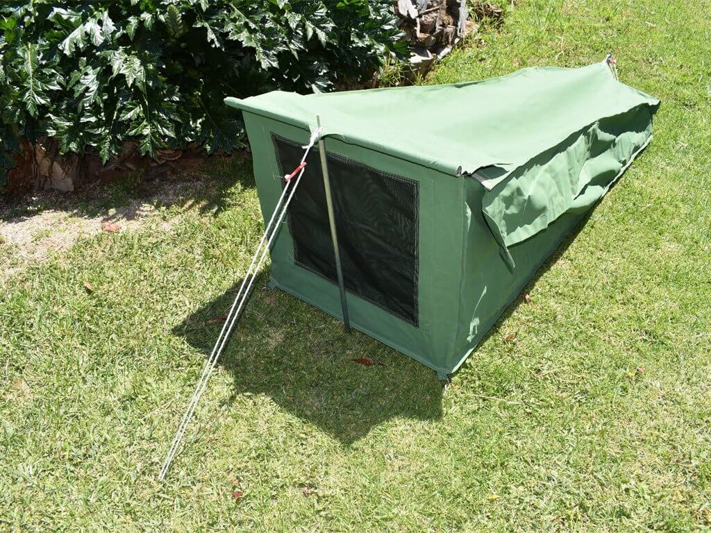Aussie Outback Canvas Bug Proof Swags (Available in 3 sizes, Single, King & Double)