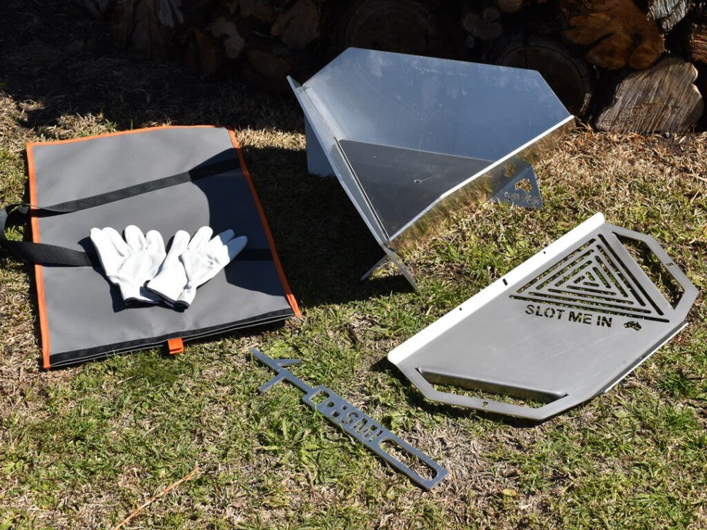 Equilateral Fire Pit™ XP, SS & AE Camper Combo Kits – AE Camper