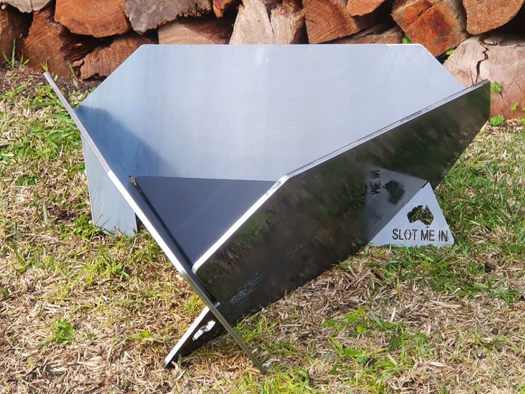"SLOT ME IN™ Equilateral Fire Pit XP6006 (Equilateral Fire Pit ""Deck 'N' Patio™"")"