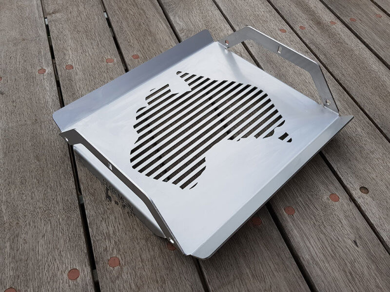 SMI Aussie Red Hot Centre™ Grill (Stainless Steel)