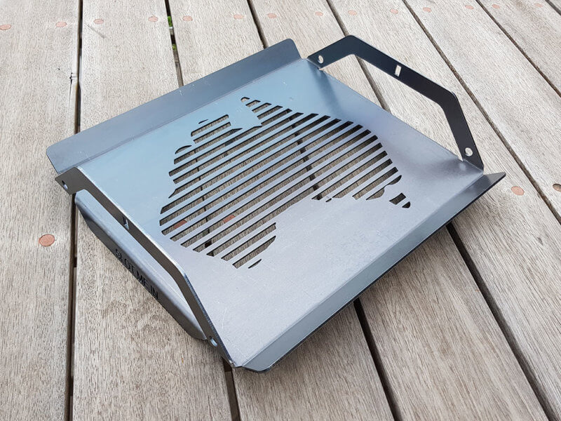 SMI Aussie Red Hot Centre™ Grill (XLERPLATE™ Steel)
