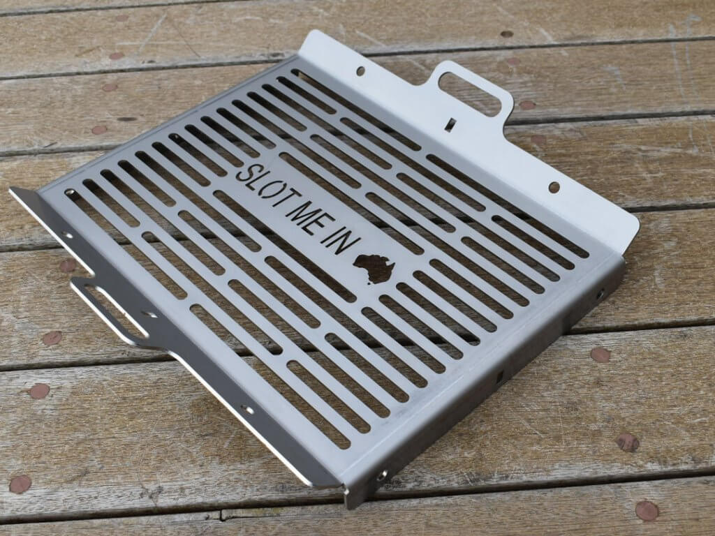 SLOT ME IN™ W469 Full Grill Xlerplate™ & Stainless Steel