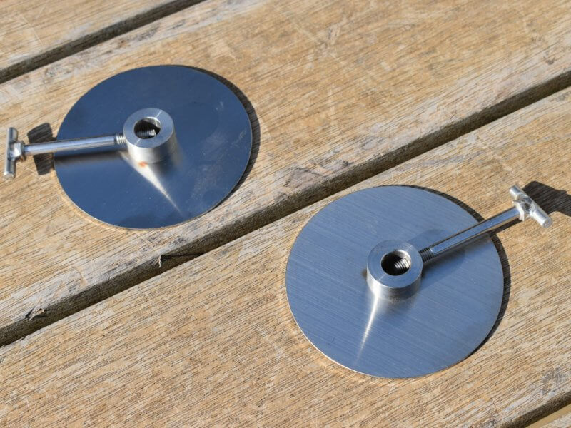 Solidteknics Auspit Stainless Steel Gyro Discs (Pair)