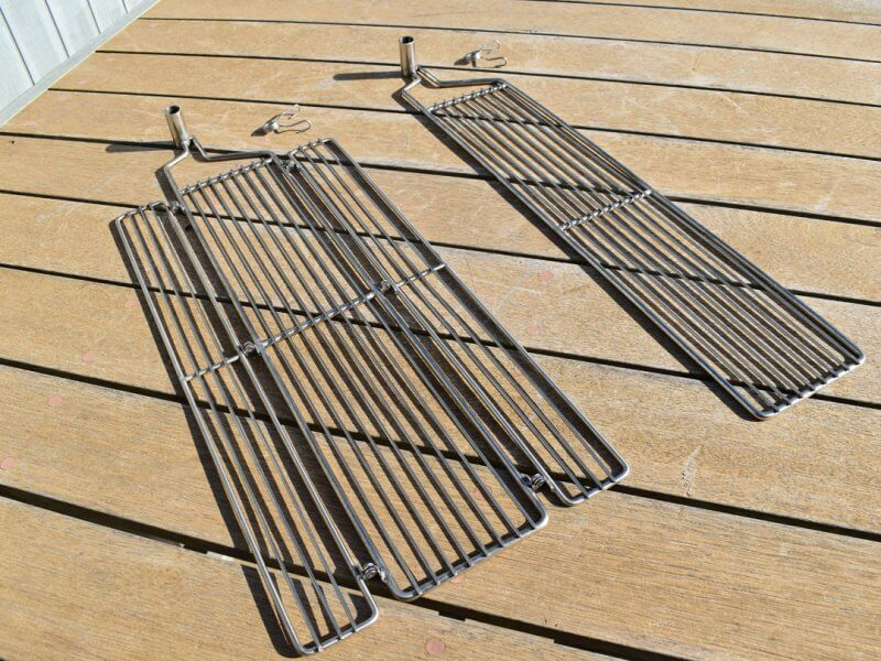 Solidteknics Auspit Stainless Steel Single & Double Folding Grills