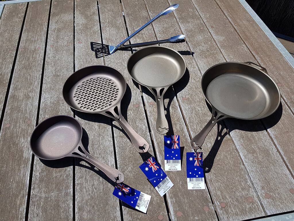 Solidteknics™ Cookware AUS-ION™ (Selected set of 4 pieces plus some freebies)