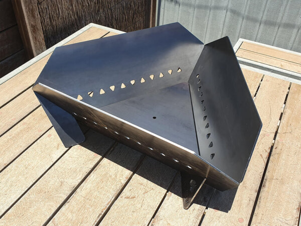 SMI Equilateral Supaflow Sided™ Fire Pit