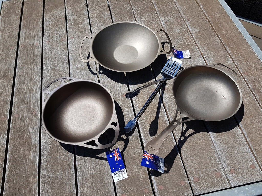 Solidteknics™ Cookware AUS-ION™ (Selected set of 3 pieces plus some freebies)