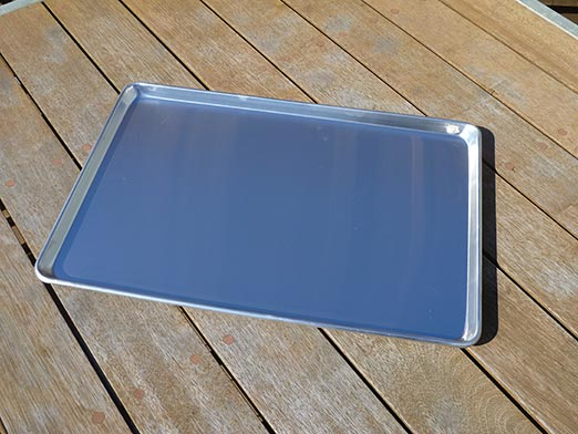 The Wedge Aluminium Under Tray