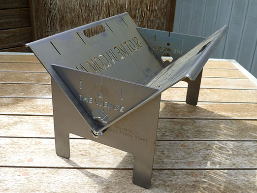 The Wedge™ The Wedge 600 Base Fire Pit