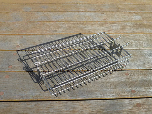 Multi Adjustable Spit Rotisserie Basket