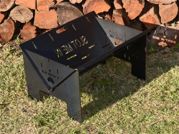 The Wedge 600 Base Fire Pit