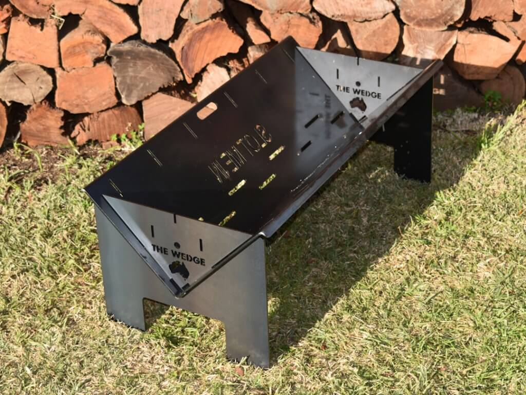 The Wedge 900 Base Fire Pit